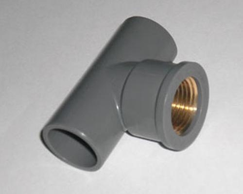 PVC铜内螺纹三通