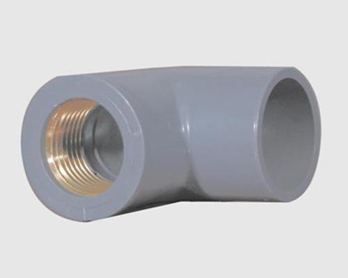 PVC铜内螺纹90°弯头