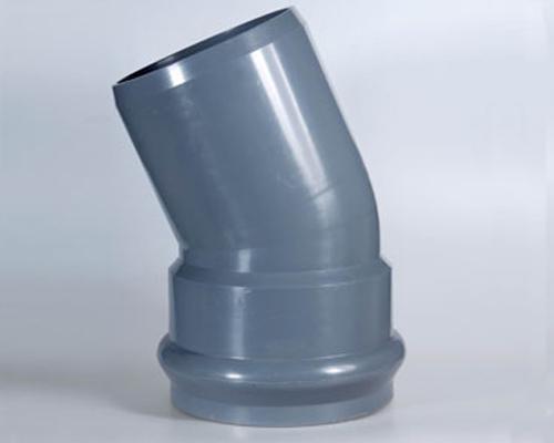 PVC承插45°弯头