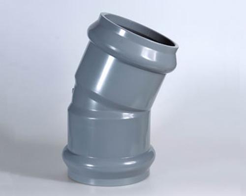 PVC双承22.5°弯头